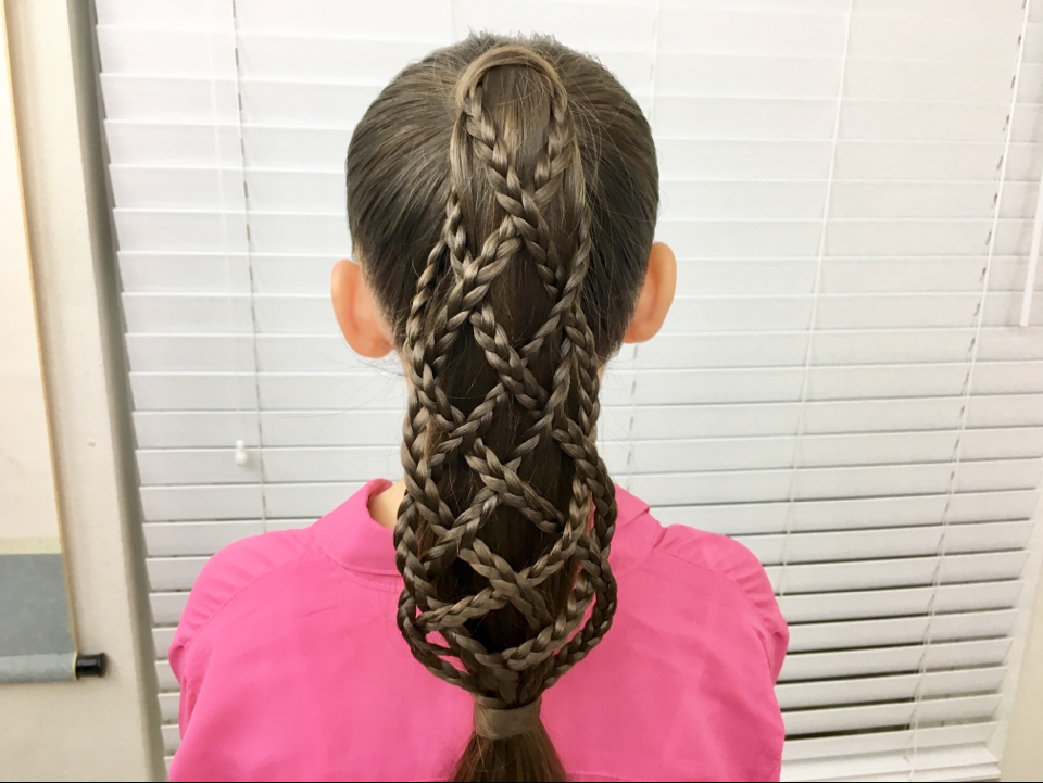 "Lattice Braid Ponytail"" Click The Link In Our Bio 
