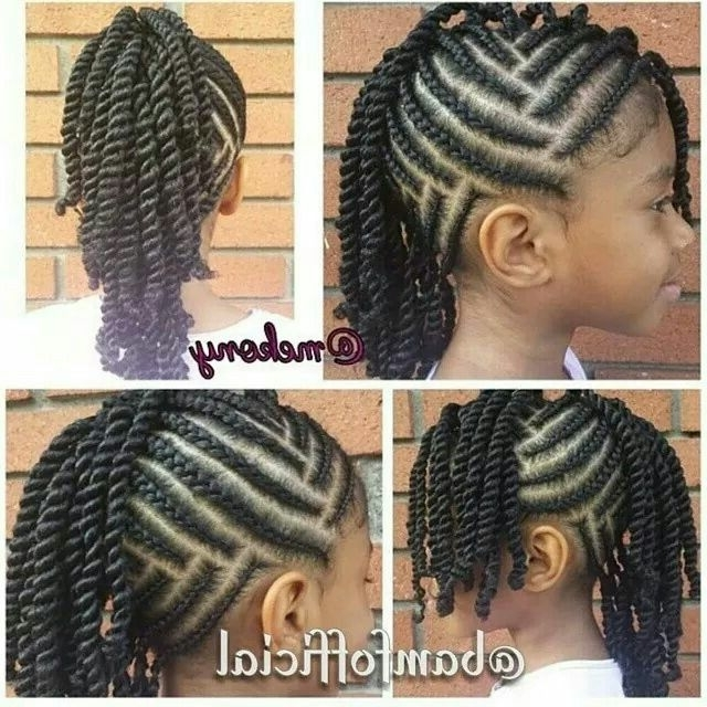 Lil Girls Braids | Lil Girls Braids | Pinterest | Hair Style, Girl For Newest Cornrow Hairstyles For Little Girl (View 9 of 15)