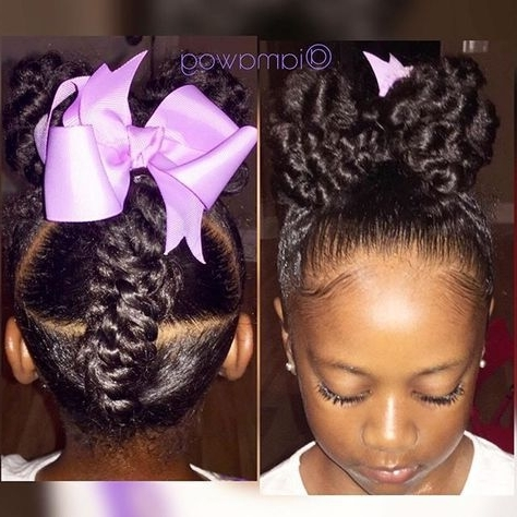 Lilmissrylei Kai #hotd A Revamped Version Of The Ponytail Hawk Using Regarding Latest Revamped Braided Ponytail (View 3 of 15)