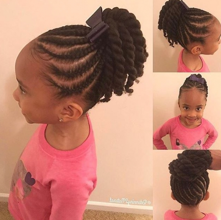 Little Black Girl Braided Hairstyles New – Yupinitos Regarding Best And Newest Black Girl Braided Hairstyles (View 12 of 15)