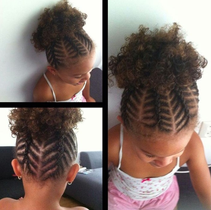 Little Black Girl Hairstyles | 30 Stunning Kids Hairstyles Inside Current Braided Hairstyles For Little Black Girls (View 8 of 15)