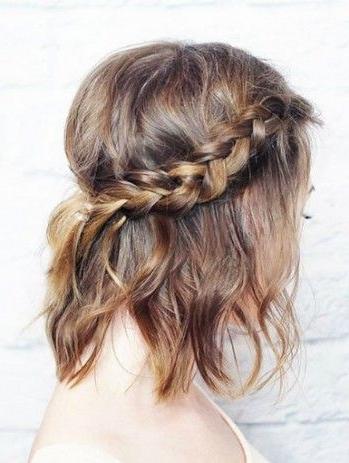 Lob Hair Braid | Hair + Makeup | Pinterest | Lob Hair, Lob And Lob Pertaining To Most Recent Braided Lob Hairstyles (View 11 of 15)