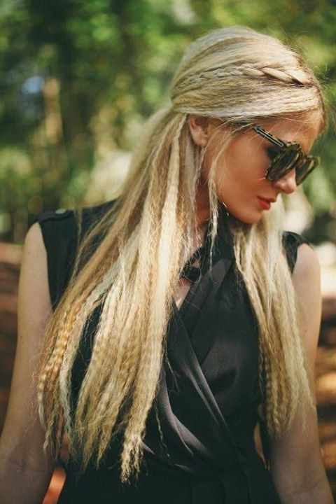 Long, Crimped Hair | Hairstyles | Hair Photo Inside Latest Crimped Crown Braids (View 5 of 15)
