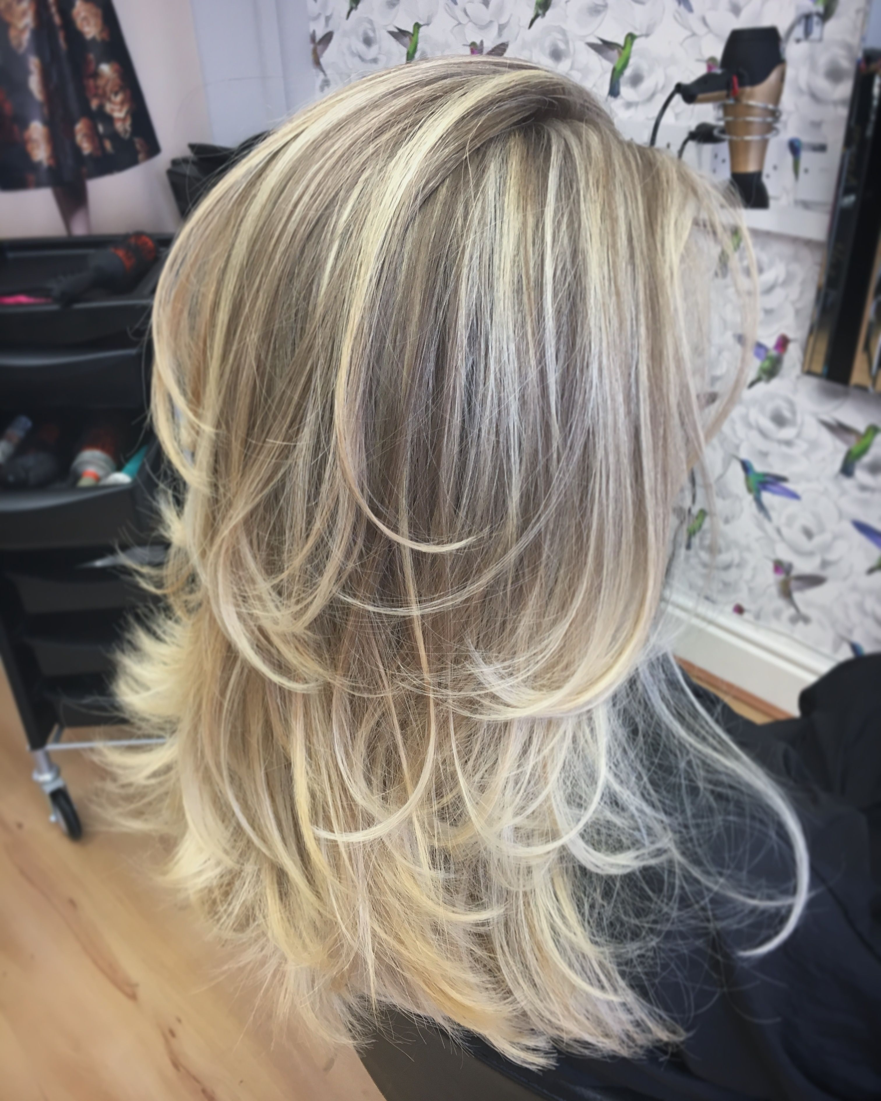 Long Layers, Blonde Balayage, Blonde Highlights, Ash Blonde, Layers Within Most Popular Pastel And Ash Pixie Haircuts With Fused Layers (View 14 of 15)
