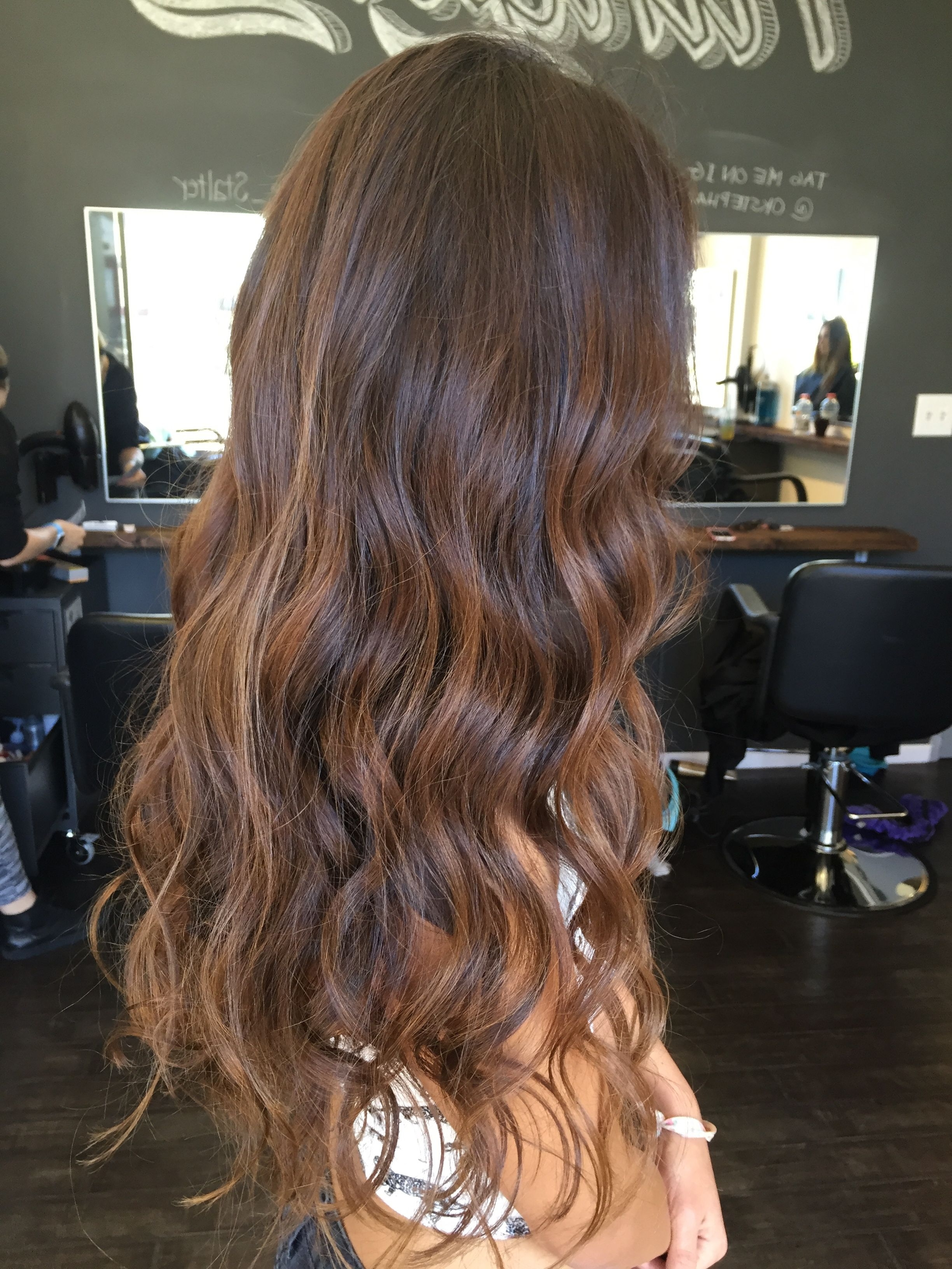 Explore Photos Of Piece Y Haircuts With Subtle Balayage Showing 6