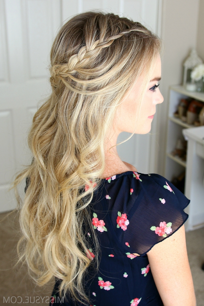 Looped Boho Braids 2 Ways | Missy Sue Within Most Up To Date Boho Braided Hairstyles (View 4 of 15)