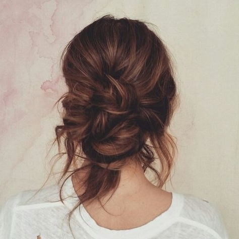 Loose Low Bun | Hair!!!!!! | Pinterest | Low Buns, Hair Style And Pertaining To Newest Messy Loosely Braided Side Downdo (View 7 of 15)