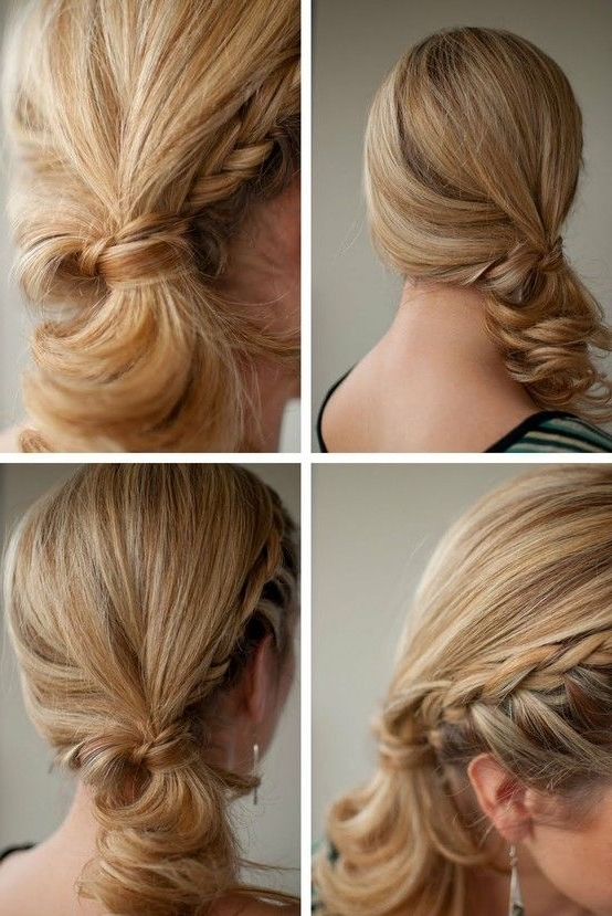 Loose Side Braided Twist Ponytail And More Cool Ponytail Ideas On Intended For Newest Side Ponytail Braids With A Twist (View 15 of 15)