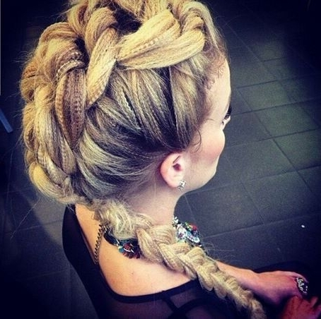 Love This, Need A Micro Crimper! | Braids! | Pinterest | Hair Style Pertaining To Current Crimped Crown Braids (View 3 of 15)