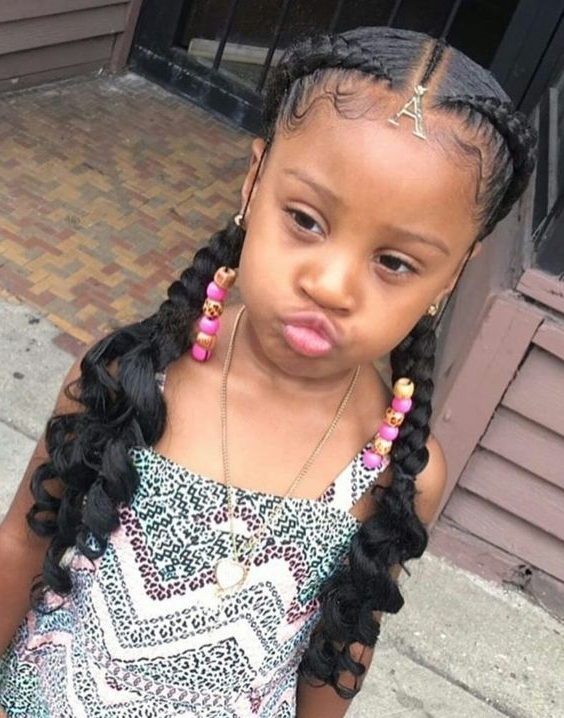 Lovely 6 Two Cornrows With Braiding Hair Ideas With Regard To Recent Two Cornrows Hairstyles (View 15 of 15)