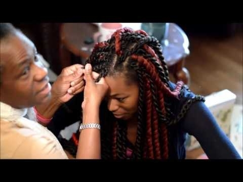 Marley Havana Twists: Crochet Braids | Vacation Hairstyles – Youtube Throughout Most Up To Date Braided Hairstyles For Vacation (View 8 of 15)