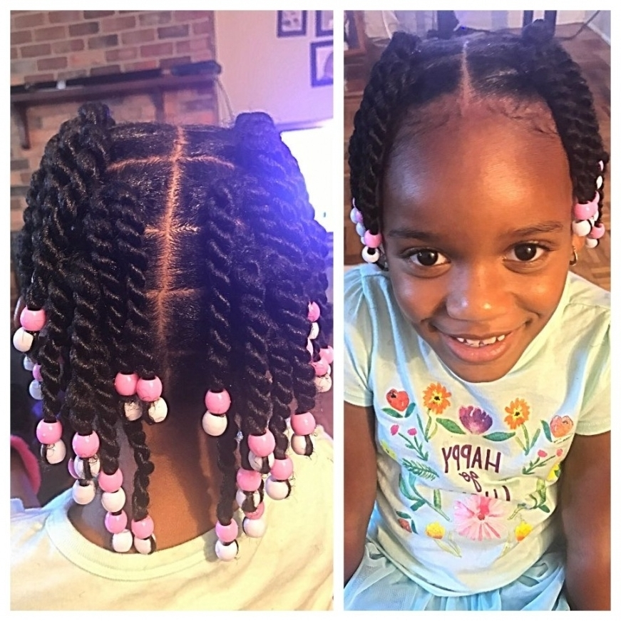 Marvelous Black Toddler Braided Hairstyles Lionscom Pic For On With Regard To Newest Toddlers Braided Hairstyles (View 9 of 15)