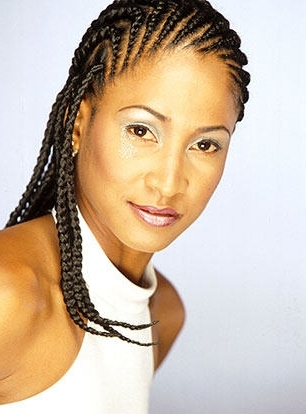 Medium Cornrow Hairstyle Inside Latest Medium Cornrows Hairstyles (View 3 of 15)