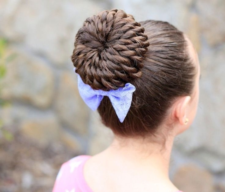 Mejores 87 Imágenes De Hairstyles En Pinterest | Ideas De Peinado In Recent Braided Hairstyles For Dance Recitals (View 7 of 15)