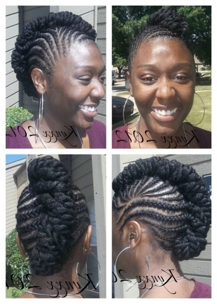 Melissa Chatman (Mchatman8913) On Pinterest Regarding Most Current Cornrows Hairstyles Without Extensions (View 12 of 15)