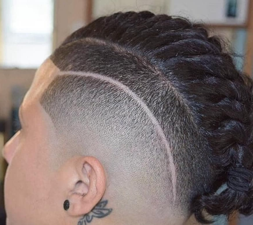 Men's Undercut: The Ultimate Guide To The Hottest Hairstyle With Regard To Current Braided Hairstyles With Undercut (View 6 of 15)