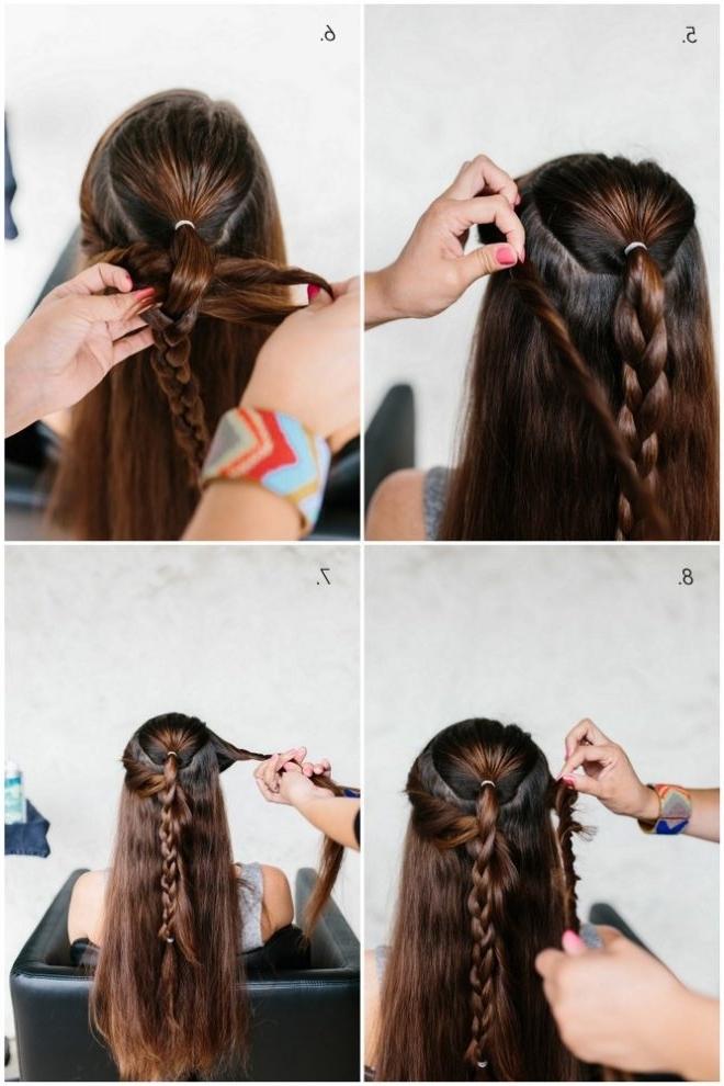 Mermaid Braid Hair Tutorial – The Effortless Chic In Most Up To Date Mermaid Braid Hairstyles (View 4 of 15)
