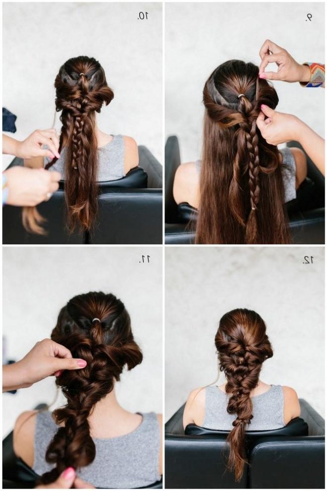 Mermaid Braid Hair Tutorial – The Effortless Chic Within Most Recently Mermaid Braid Hairstyles (View 13 of 15)