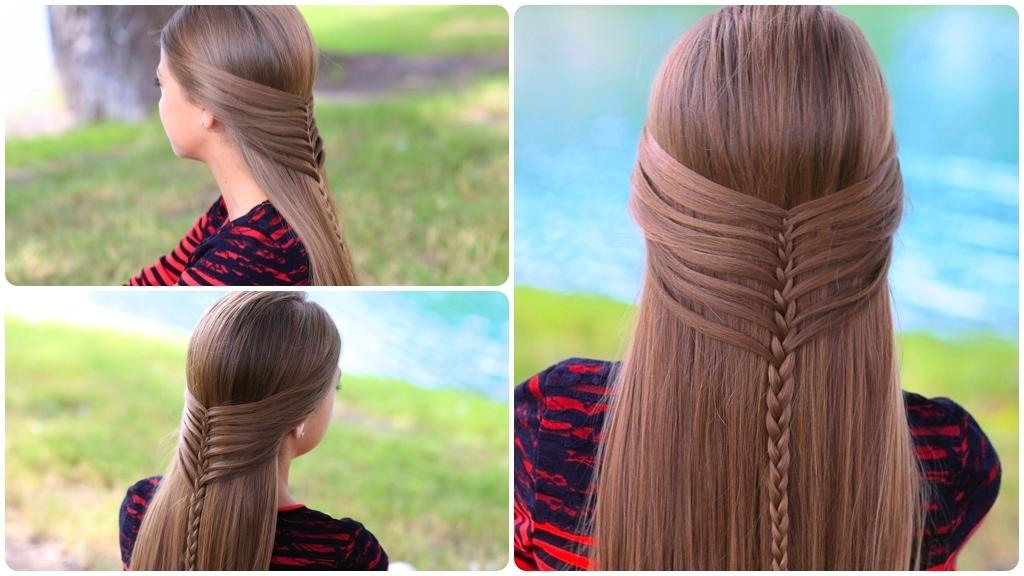 Mermaid Half Braid | Hairstyles For Long Hair | Cute Girls Hairstyles Within Recent Mermaid Braid Hairstyles (View 3 of 15)