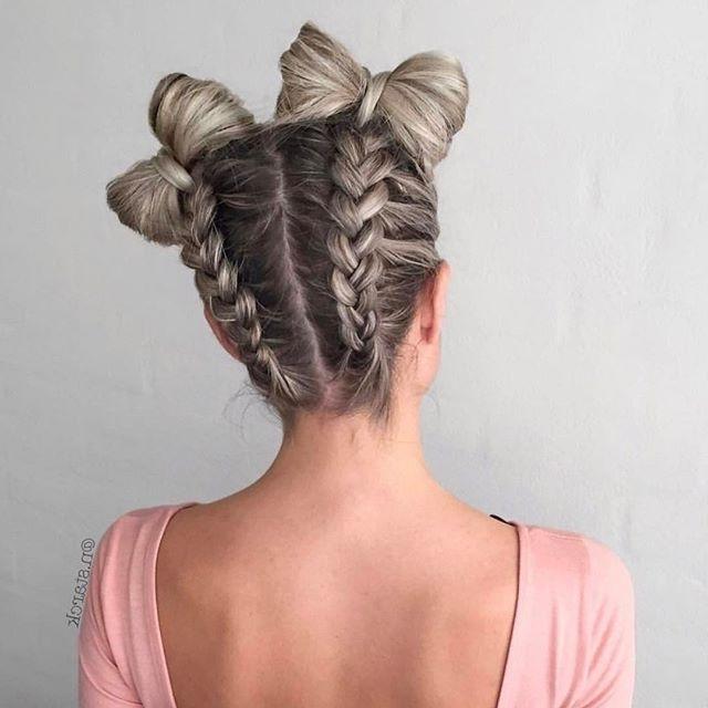 Mermaid Heart Braid | Cute Valentine's Day Hairstyles | Cute Girls Pertaining To 2018 Elegant Bow Braid Hairstyles (View 8 of 15)