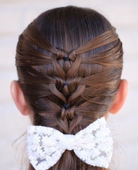Mermaid Heart Braid Valentine's Day Hairstyle – Instructions And For Most Current Heart Braided Hairstyles (View 10 of 15)