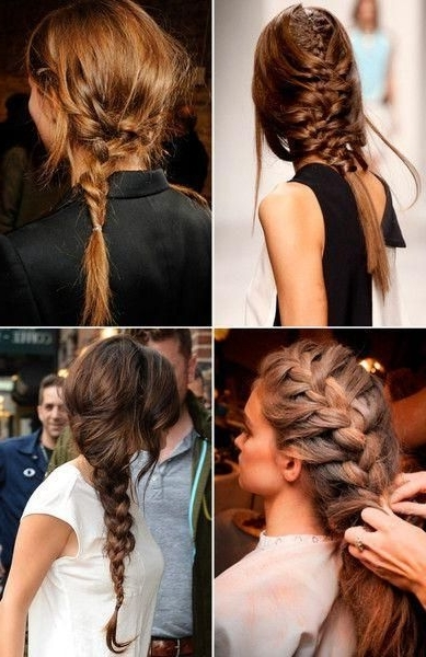 Messy Braids Hairstyles 110 Best Braided Hairstyles Images On For Most Current Messy Braid Hairstyles (View 7 of 15)