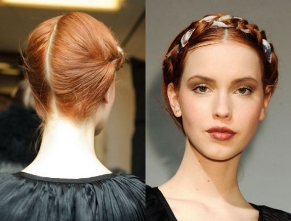 Milkmaid Braid Hairstyles Beautiful Hairstyles For Women Milkmaid Throughout Best And Newest Milkmaid Braided Hairstyles (View 3 of 15)