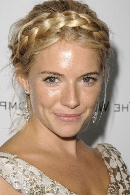 Milkmaid Braids: Cute Braided Hairstyles You Should Never Miss Inside Current Milkmaid Braided Hairstyles (View 6 of 15)
