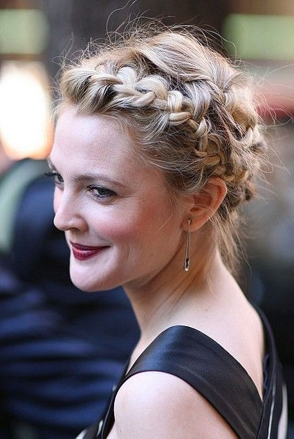 Milkmaid Braids: Cute Braided Hairstyles You Should Never Miss With Current Milkmaid Braids Hairstyles (View 3 of 15)