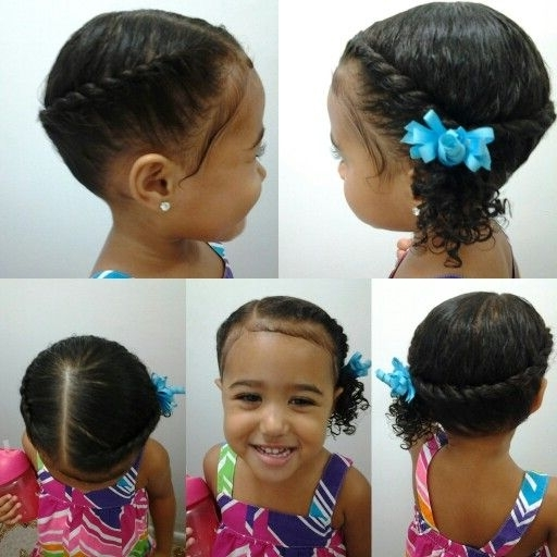 Mixed Girls Hairstyles (View 5 of 15)