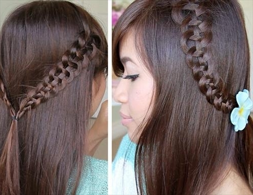 Modern Braided Hairstyles 2014 For Girls   Hairstyles 2018 For Recent Snake Braids Hairstyles (View 13 of 15)