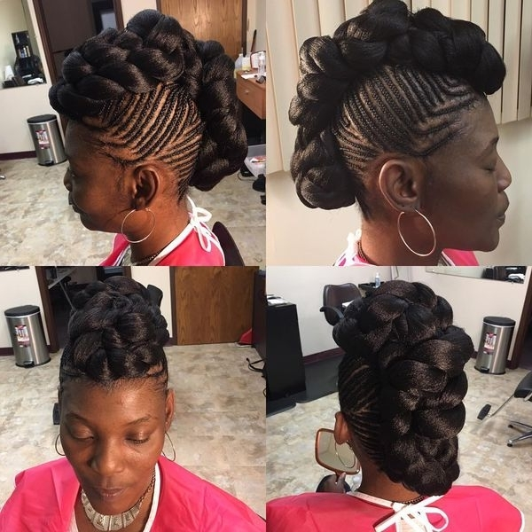 Featured Photo of Black Braided Mohawk