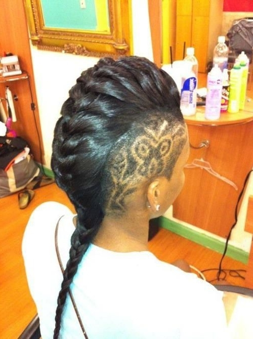 Mohawk Braids: 12 Braided Mohawk Hairstyles That Get Attention Pertaining To Most Recently Mohawk French Braid Hairstyles (View 7 of 15)