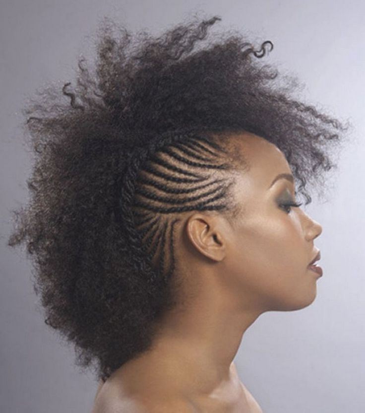 Mohawk Hairstyles For Black Ladies 244 Best Hairstyles Images On In Best And Newest Cornrow Mohawk Hairstyles Hair (View 5 of 15)