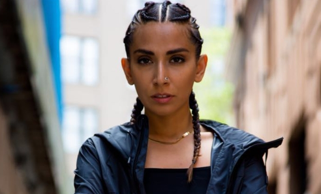 Monica Dogra's Intricate Boxer Braids Are So Badass | Hauterfly For Newest Intricate Boxer Braids Hairstyles (View 13 of 15)