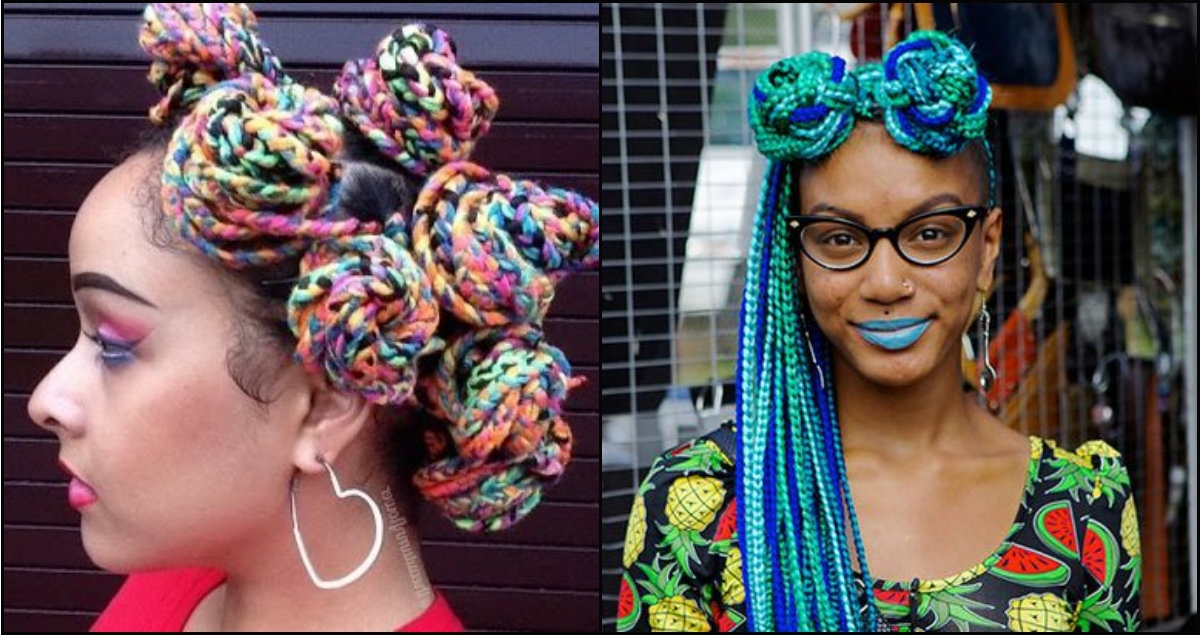 Multi Colored Rainbow Box Braids You Will Be Impressed With Regarding Recent Multicolored Jumbo Braid Hairstyles (View 7 of 15)
