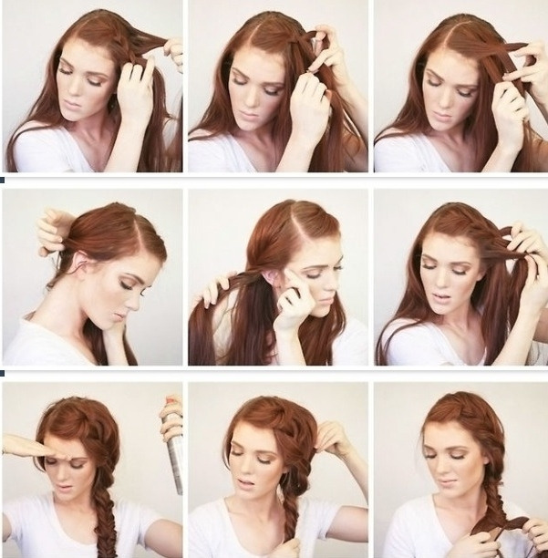 Musely Within Best And Newest Bohemian Side Braid Hairstyles (View 7 of 15)
