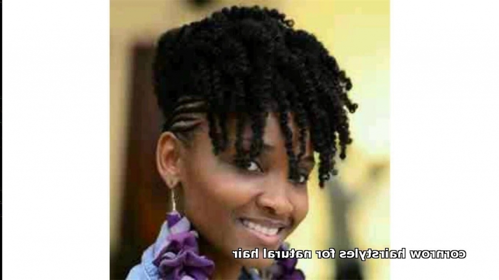 Natural Hairstyles For Thin Edges – Zyczenia24 Inside Recent Cornrows Hairstyles For Thin Edges (View 3 of 15)