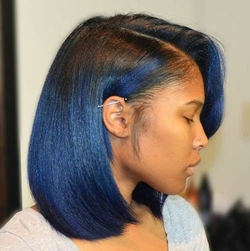 New African Cornrows Hairstyles 2015 Ombre Bob With Bangs Within Recent Cornrows Hairstyles With Bangs (View 3 of 15)