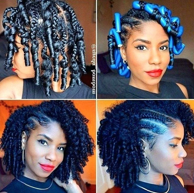 New Black Braided Hairstyles For Black Braided Hairstyles With in Most Popular Quick Braided Hairstyles For Black Hair