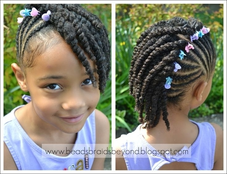 New Black Cornrow And Twist Hairstyles 2015 For Graduation throughout Most Recent Cornrow Hairstyles For Graduation
