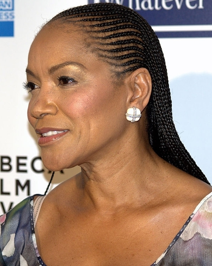 New Cornrow Hair Styles 2015 Women Over 40 regarding Most Popular Braided Hairstyles For Women Over 40