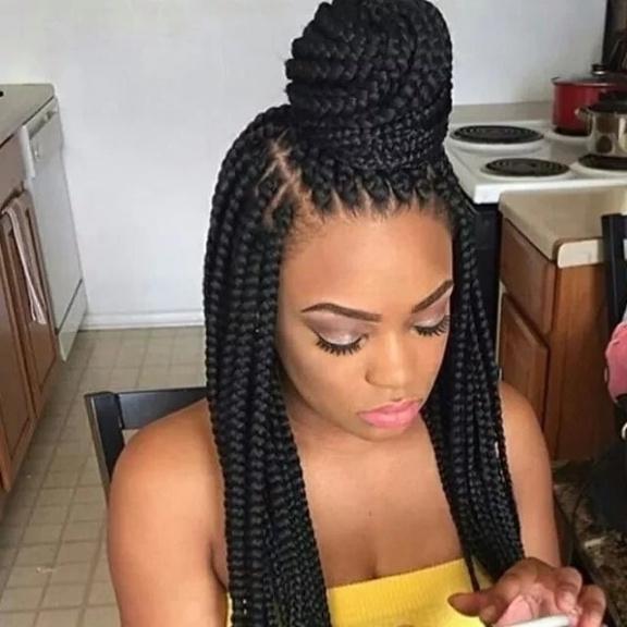 Nigerian Braids Hairstyles 2018 The Latest Hairstyles In Nigeria inside Most Recently Nigerian Braid Hairstyles