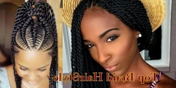 Nigerian Braids Hairstyles   American African Haircut throughout Most Up-to-Date Nigerian Braid Hairstyles