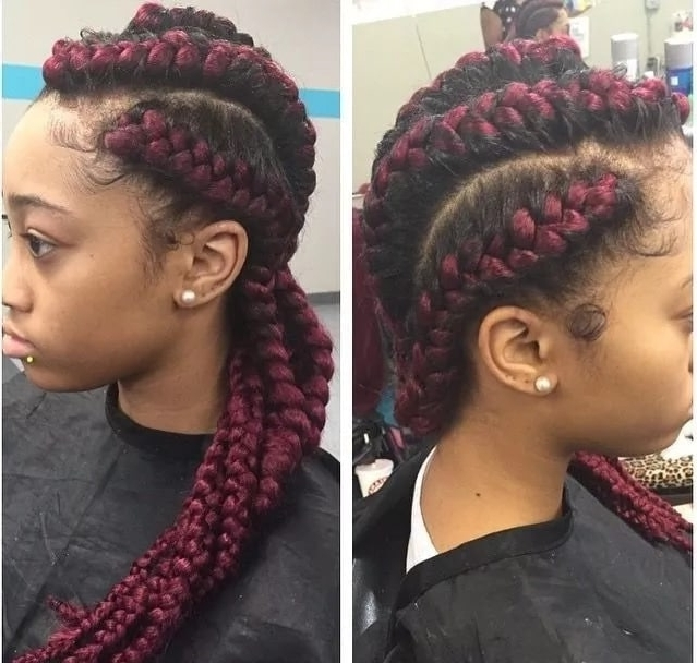 Nigerian Cornrow Hairstyles 2017 2018 ? Naija (View 7 of 15)