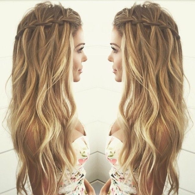 Peinados Para 15 Años – Buscar Con Google … | Peinados… For Most Recent Boho Braided Hairstyles (View 15 of 15)