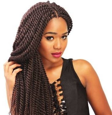 Pencil Mambo Braids In Kenya: How To Style, Price, Where To Buy And Regarding Recent Kenyan Braided Hairstyles (View 4 of 15)