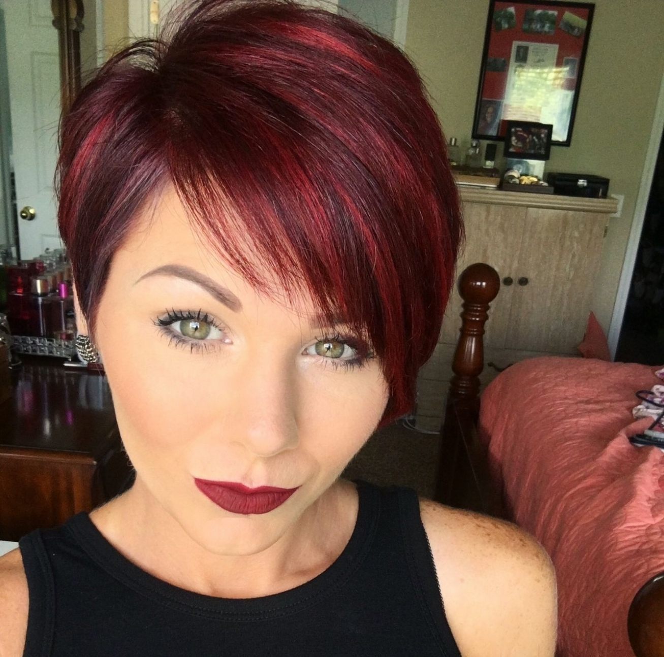 Photos Of Red Pixie Hairstyles (Showing 14 Of 15 Photos) Inside Red Intended For Most Popular Long Red Pixie Haircuts (View 15 of 15)