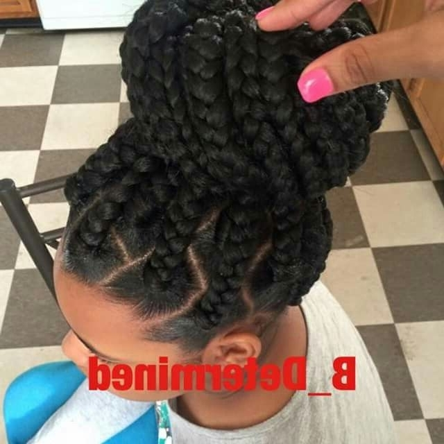 Pinevpplepevce | Braid Obsession | Pinterest | Hair Style For Newest Large Braided Updos (View 10 of 15)