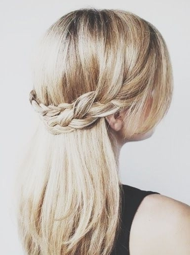 Pinfmag On Graduation Hairstyles | Pinterest | Graduation Inside Most Recent Braided Graduation Hairstyles (View 2 of 15)
